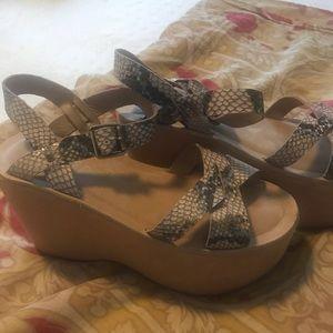Kork Ease Platform Sandals
